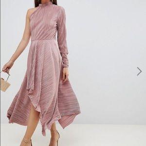 ASOS Asymmetric One Sleeve Dress